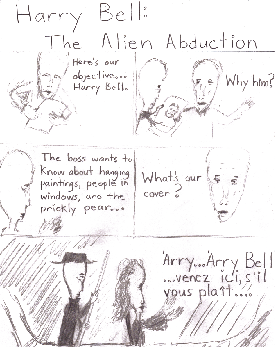 Boogie Street Abduction Cartoon